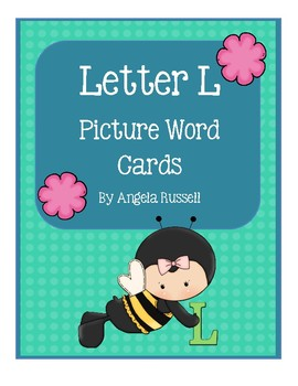 Letter L ~ Picture Word Cards