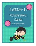 Letter L - Picture Word Cards