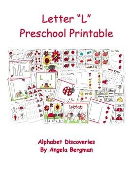 Letter L ~ Preschool Unit