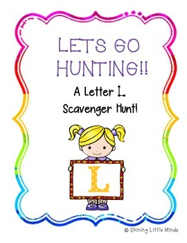 Letter L Scavenger Hunt