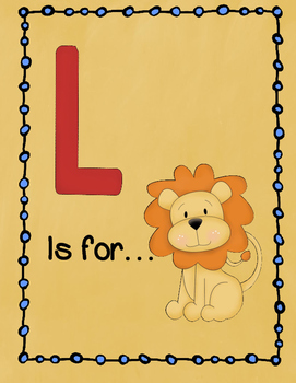 Letter L Story and Writing Practice