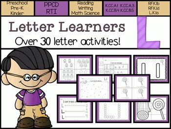 Letter Learners: Letter L
