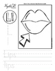 Letter L Trace and Write Worksheet Pack