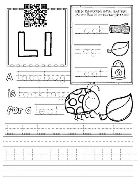 letter l worksheet by miss g 39 s resources teachers pay. Black Bedroom Furniture Sets. Home Design Ideas
