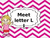 Letter L ppt with formation song