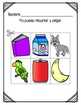 In Spanish {Letter L / La letra L}