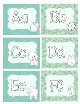 Labels- Initial Sound Letters