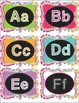 Bulletin Board Letters and Library Bin Labels