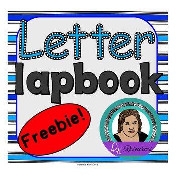Letter Lapbook Freebie! Create 26 Mini Books!