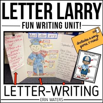 Letter Larry: A Letter-Writ... by Erin Waters | Teachers Pay Teachers