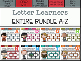 Letter Learners: A-Z ENTIRE BUNLE *Save $*