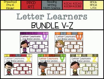 Letter Learners: V-Z Bundle *Save $*