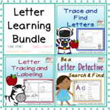 Letter Learning Bundle: Letter Formation, Letter Recogniti