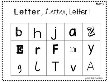 Letter, Letter, Letter: An Interactive Letter Identification Game