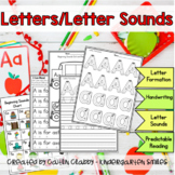Letter/Letter Sound Printable Notebook