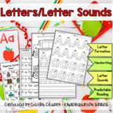 Letter/Letter Sound Printable Notebook