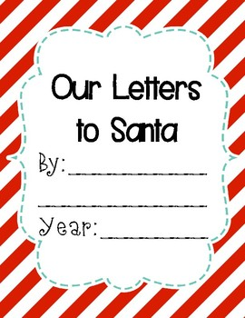 Letter / Letters to Santa Class Book {Freebie!}