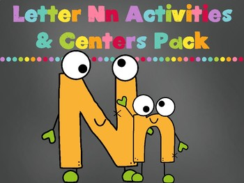 Letter Nn Activity Pack (CCSS)