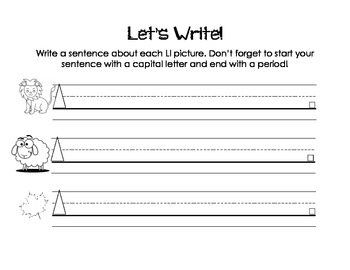 Letter Ll Activity Packet