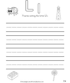 Letter Ll Journal