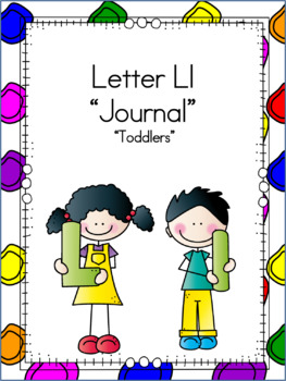 Letter Ll Journal for Toddlers