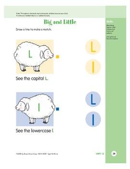 Letter Ll (Lambs)
