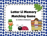 Letter Ll Memory Game