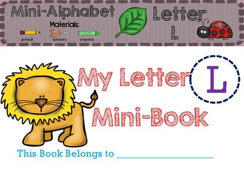 Letter Ll Mini-Book