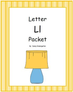 Letter Ll Phonics and Writing Pack