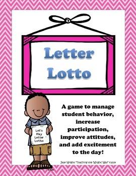 Letter Lotto: A Behavior Management Game