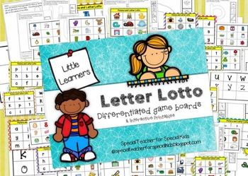 Letter Lotto Hands on Fun!