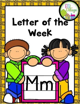 """Letter of the Week (Letter """"M"""")"""