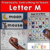 Letter M | Alphabet Printables and Centers