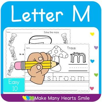 Easy 10: Letter M