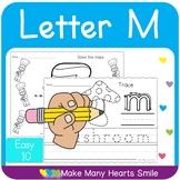 Letter M Easy 10   MMHS25