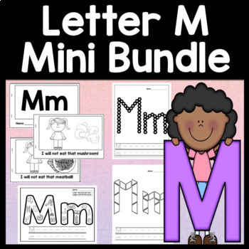Letter M Activities Letter M Book And 5 Letter M Worksheets Tpt