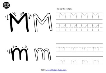 Letter M Activities and Worksheets