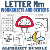 Letter M Activity and Center Packet