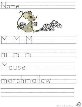 Letter M  Alliteration Set