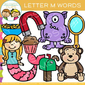 Letter M Alphabet Clip Art