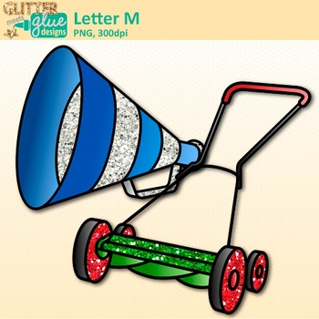 Letter M Alphabet Clip Art {Teach Phonics, Recognition, and Identification}