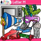 Letter M Alphabet Clip Art {Teach Phonics, Recognition, an