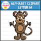 Letter M Alphabet Clipart  (Beginning Sounds)