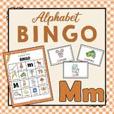 Letter M Bingo Game