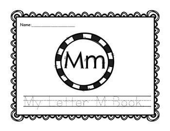 Letter M Book