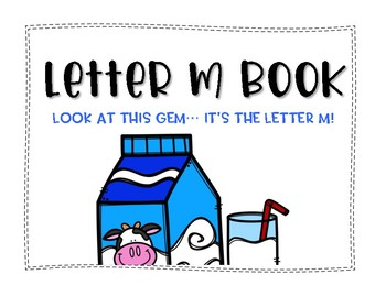 Letter M Book: Handwriting Practice