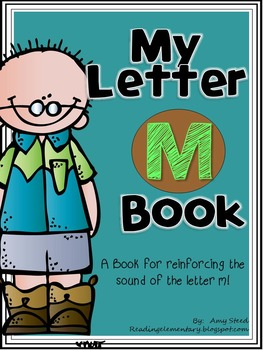 Letter M Book of Beginning Sounds-Emergent Reader w/Running Record-CCSS Aligned