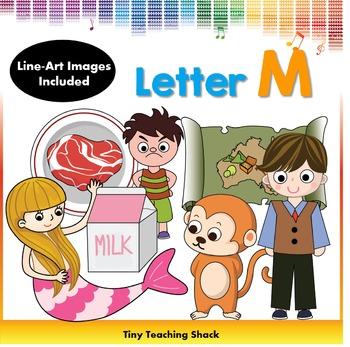 Letter M Clip Art