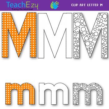 Letter M Clip Art Pack