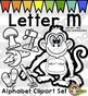 Alphabet Clip Art: Letter M Phonics Clipart Set - Clip Art